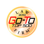 2013 Go To Top 500 law Firms