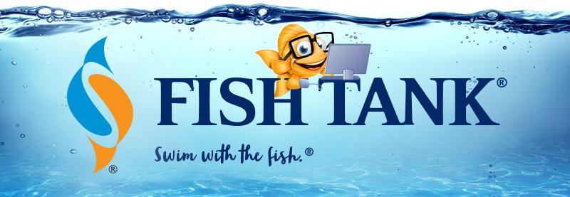 Fish Tank Fish with computer